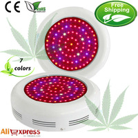 Fast free shipping the perfect 7 Band ufo 45*3w led grow lights China for growing Hydroponics plants indoors