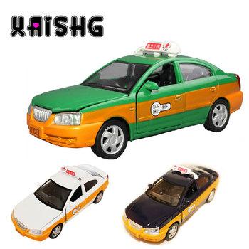 Battery taxi alloy car model toy acoustooptical WARRIOR four door toy car