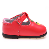 Baby toddler shoes baby shoes baby shoes toddler shoes soft slip-resistant outsole spring and autumn female shoes leather