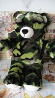 Popular toys Camo bear plushs gift for christmas gifts for birthday toys free shipping