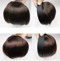 High temperature wire wig bangs hair band belt girls hoop type knife bangs qi bangs wig