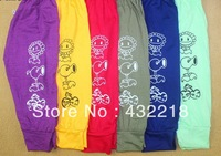 Free shipping KK01 Children cotton long pants harem pants children autumn