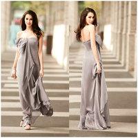 New arrival 2012 fashion elegant prom elegant design long evening dress tube top dress formal