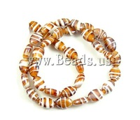 Free shipping!!!Handmade Lampwork Beads,ladies jewelry, Oval, 14x18x7mm, Hole:Approx 2.5mm, 100PC/Bag, Sold By Bag