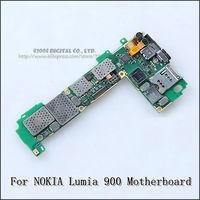 1PCS 100%  Original for nokia Lumia 900 Motherboard  16GB logical board Mainboard Unlock,high quality Free Shipping