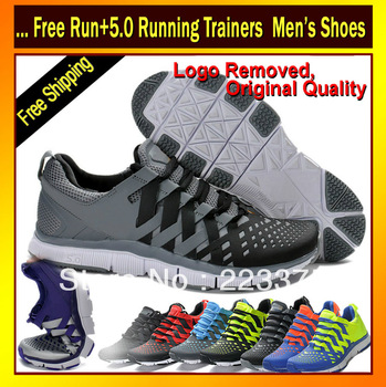 2013 NEW free run 5.0 running trainers men man athletic sport trainers with brand logo, ticks(Free Shipping)