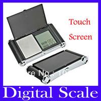 Free shipping 300gx0.01gDigital Pocket Jewellery Scale,Touch Screen Auto-Off Strain Gauge ,10pcs/lot