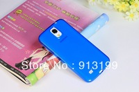 Free Shipping 1pcs High Quality Soft Rubber TPU Gel Silicone Case Cover Skin for Samsung Galaxy Mega 6.3 i9200
