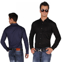 Super Sale Size M Only Men Shirt /dresses casual men's shirts/long sleeve/slim fit/business work/100% cotton/# 231