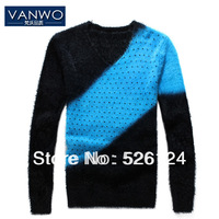 Hot sale Men's Bottoming shirt,Man knitting sweater leisure,V-neck collar backing shirt, coats Free Shipping US size: M L XL