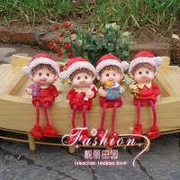 Christmas doll gift resin doll decoration christmas