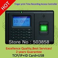 Hot sales monochrome screen  biometric fingerprint time attendance and  access control terminal  T2000