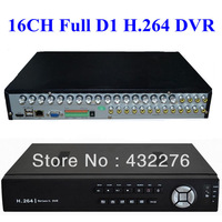 Free Shipping Super CCTV 16CH Full D1 H.264 DVR Standalone Super DVR SDVR/HVR/NVR Security System 1080P HDMI Output DVR