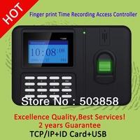 Wholesales monochrome screen  biometric fingerprint time attendance and  access control terminal  T2066