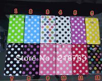 New arrival Glossy Polka Dots TPU Back Case for Sony Xperia Z L36H Yuga C6603 C660x L36i C6602  200pcs/lot DHL EMS free