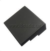 Free shipping!!!Velveteen Ring Display,Elegant, Ladder, black, 260x240x95mm, Sold By PC