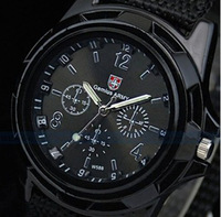 Luxury Analog new fashion TRENDY SPORT MILITARY STYLE WRIST WATCH for MEN SWISS  GEMIUS ARMY quartz watch