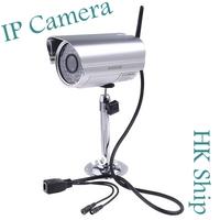 Wholesale 1pcs/lot Best Quality Wireless WiFi IR Cut Night Vision Waterproof Security IP Camera  Free HongKong Post  I10