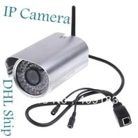 Wholesale 5pcs/lot Best Quality Wireless WiFi IR Cut Night Vision Waterproof Security IP Camera  Free DHL  I10
