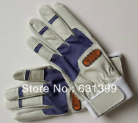 Free shipping gloves working gloves welding gloves leather gloves