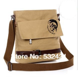 2014 brief men's bag casual men bag shoulder bags canvas men messenger bags