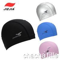 Swimming cap comfortable swimming cap PU coating swimming cap waterproof