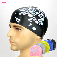 Swimming cap swimming cap Web silica gel waterproof