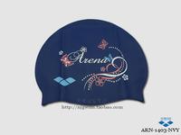 Arena ariana print silica gel swimming cap arn-1403 149