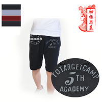 Men sports casual shorts summer male breeched chromophous 3 plus size pants summer fashion beach capris