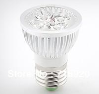 4W LED spotlight E27 AC220V 110V aluminum led bulb lamp for home lighting, free shipping