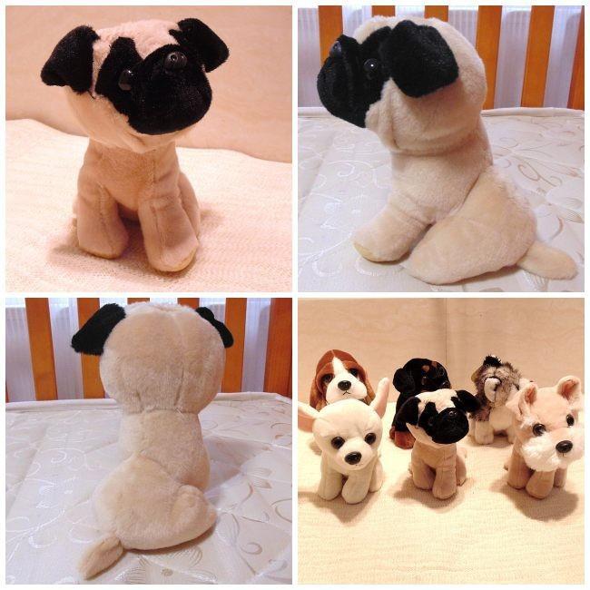 Bonito perro de peluche de juguete de felpa Animal pequeño perro ...
