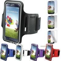 Premium Running Sports Armband Case Cover For Samsung GALAXY S4 IV GT-i9500 5 Colors , Worldwide Free Shiping