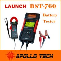 100% Original Launch BST760 Battery Tester BST-760 Dual Language Battey Electrical Tester 760 Suit for 6V / 12V / 24V