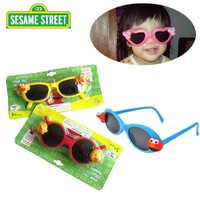 Sesame Street  Fahion Cool Children Kids Sunglasses Cartoon Four Color  Necessary for travel Sunglass Free shipping