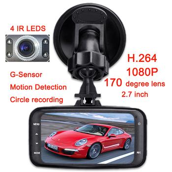GS8000 HD 1080P Car DVR + GPS+2.7' LCD +170 degree+Cycling Digital Camera + Night Vision Driving Recorder +G-Sensor