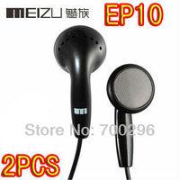 Free Shipping 2pcs/lot meizu EP10 in-ear earphone for mp3 mp4 high resolution sound high quality Mini HD headphones headset