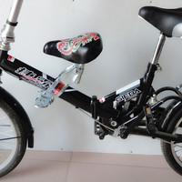 Bicycle folding bike mountain bike child udprc chair seat seatstay rack saddle seat bicycle accessories