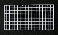 Grid 30 15cm plaid board black white