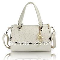 Free Shipping Wholesale New bag Casual fashion handbags Korean ostrich pattern package Senior handbag