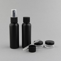 Cosmetic Travel Set Perfume Bottle Lotion Bottle Cosmetic Jar 6 Pieces a Set