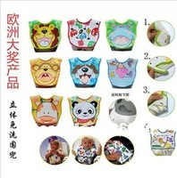 baby Waterproof disposable bibs Kids wear 28 models available 5pcs /lot Free shipping Best selling!