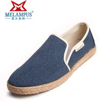 Men pedal canvas shoes canvas shoes single shoes casual linen 2013 light