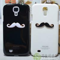 Lover&couple 3D Beard Mustache Hard Back Case Cover Tasche Skin For Samsung Galaxy Mega 6.3 Factory Unlocked I9200