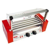 WY-05 fivve tube grilled sausage machine small hot dog roast machine, roast hot dog machine hot dog warmer