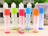 Wholesale Cute Design 5g  Empty Lipstick Tube. Lip Balm Stick Container. Lip Balm Container, DIY Tube ZRGF-01, 50Pcs/Lot