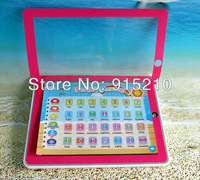 Free Shipping 11-IN-1 Toy Pad English Learning Tablet for children,Y Pad laptop computer baby toys 2 Colours Mixed,150PCS/Lot