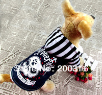 Black Hoodied New Arrival Pet Dogs Winter Coat With Skull Printing Free shipping dogs clothes