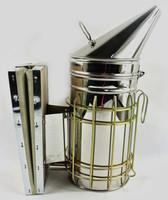 "New 4""x10"" Apiary Equipment Bee Hive Smoker Keeper Safe SS Fogger Heat Shield"