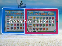 Free Shipping Toy Pad 11-IN-1 English Learning Tablet Toys for Kids,Y Pad laptop computer baby toys 2 Colours Mixed,400PCS/Lot