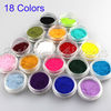 New 18 Colors Fashion Nail Decoration Fuzzy Flocking Velvet Nail Powder For Nail Art Tips